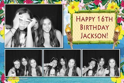 Jackson's 16th Birthday