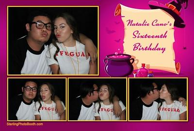 Natalie Cano's Sixteenth Birthday
