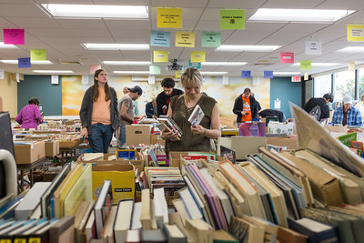 101316  Wesley Bunnell | Staff  The Friends of the Library Fall Book Sale is taking place in the Community Room, Main New Britain Library on Oct 12-15th.