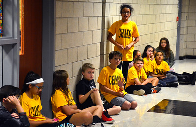 10/18/2016 Mike Orazzi | Staff Chippens Hills Middle School student Celines Quiroga talks about attending a session at New Britain Superior Court recently.