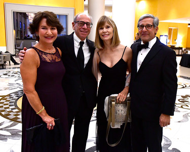 10/21/2016 Mike Orazzi | Staff  Vicki and Peter Levinson with Brenda and Dr. John Votto during the Hospital for Special Care's 75th Anniversary gala celebration held at the Hartford Marriott Friday night.