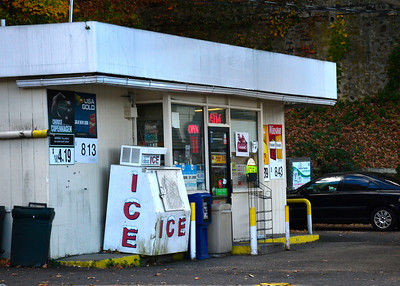 10/26/2016 Mike Orazzi | Staff Gas station at 44 South Street in Bristol.