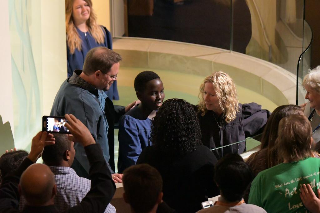 October 2017 Baptisms