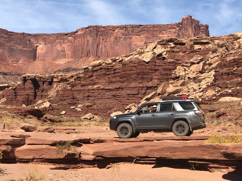 Along the White Rim Trail