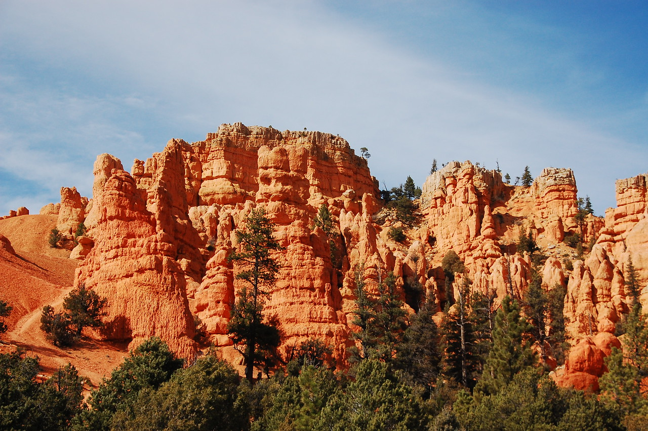 Red Canyon in the Dixie National Forest.