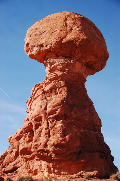 Balanced Rock at Arches NP.