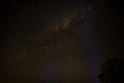 Yungaburra Van Park at Night. 2.
