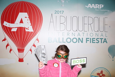 Saturday fun at Balloon Fiesta 2017 in the AARP Photo booth by ShutterBoothABQ!