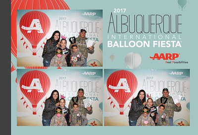 Great time at the AARP Block Party during the 2017 Balloon Fiesta!