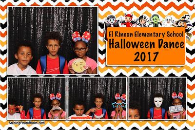 El Rincon Elementary Halloween School Dance 2017