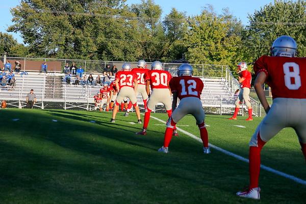 Freshman/Sophomore Football vs Winfield  101717