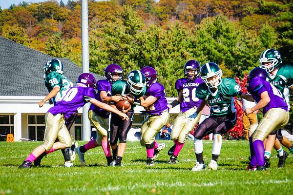 Parents' Weekend: JV Football vs. Mascoma