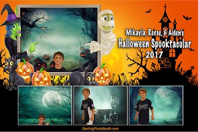 Mikayla, Reese & Aiden's Halloween Spooktacular