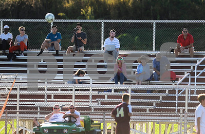 10/10/2017 Mike Orazzi | Staff Dan Orencole during Tuesday's soccer at Bristol Central.