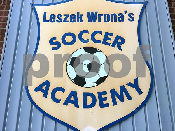 10/10/2017 James Drzewiecki   Staff Leszek Wrona's Soccer Academy in Bristol.