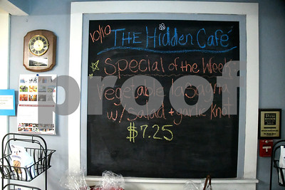 10/10/2017 Mike Orazzi | Staff The Hidden Cafe at the Bristol Adult Resource Center in Bristol.