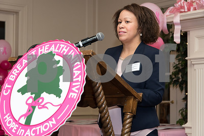 10/12/17  Wesley Bunnell | Staff  The CT Breast Health Initiative, Inc. presented research and education awards, recognition of sponsors and volunteers of distinction on Thursday evening at Shuttle Meadow Country Club. Denise Coladonato of the Normal Pfriem Breast Center accepts a community education grant.