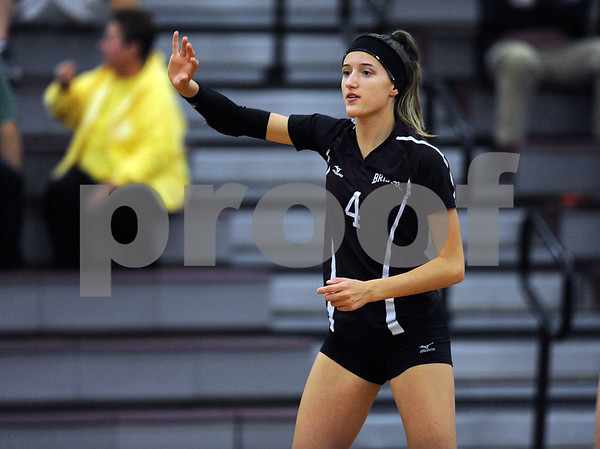 10/18/2017 Mike Orazzi | Staff Bristol Central's Sierra Reed (8) during Wednesday's volleyball match with Middletown.