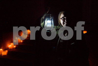 10/19/17  Wesley Bunnell | Staff  Visitors to Timeless Tales at Fairview Cemetery took a lamplight led tour featuring tales of the Stanley family. The guide for the tour is Sarah Lankton who was the first person buried in the cemetery in 1756.