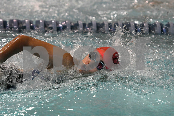 10/24/2017 Mike Orazzi | Staff Bristol Eastern's Kaylin Koh during Tuesday's swim meet with Central.