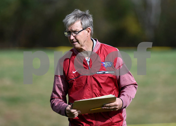 10/28/2017 Mike Orazzi   Staff St. Paul's Jude Kelly during Saturday's football game with Woodland in Bristol.