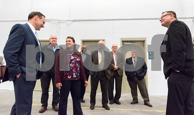 10/30/17  Wesley Bunnell   Staff  Makino, Inc. held a ribbon cutting on Monday afternoon at its new facility on Myrtle Street. Vice President of Die Mold Andre Ey, L, Regional Manager Barry Boman, Mayor Erin Stewart, candidate for Alderman Jason Gibson, Economic Development Director Bill Carroll, Alderman Don Naples, Executive Director of New Britain Downtown District Gerry Amodio and Consumables Sales and Operations Manager Tom Kucharski.