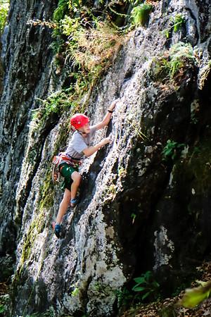 Rock Climbing Team Practice