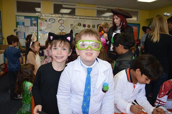 Spooktacular Halloween Fun in Second Grade