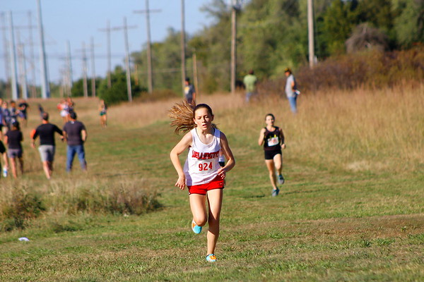 WHS Cross Country @ AVCTL League - Buhler 101217