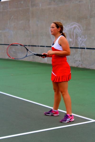 WHS Lady Crusader Tennis @ State 4A Tourney - Pratt