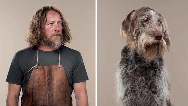 "Gerhard Gethings ""People and their Dogs'"