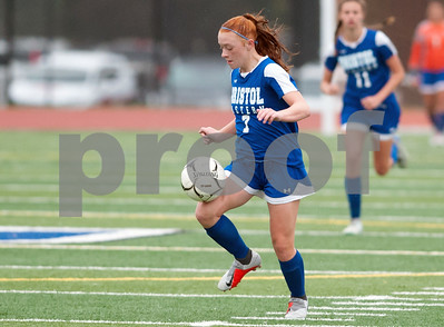 10/08/18  Wesley Bunnell | Staff  Bristol Eastern girls soccer defeated Platt at home on Monday afternoon. Lili Morneault (7)