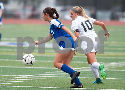 10/08/18  Wesley Bunnell | Staff  Bristol Eastern girls soccer defeated Platt at home on Monday afternoon. Kailey Laprise (14)