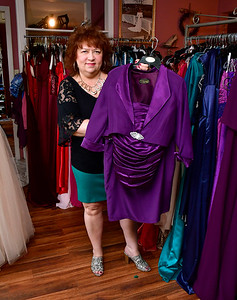 10/11/2018 Mike Orazzi | Staff Kathy Faber of Kathy Faber Designs talks about clothing trends for older adults with mobility challenges.