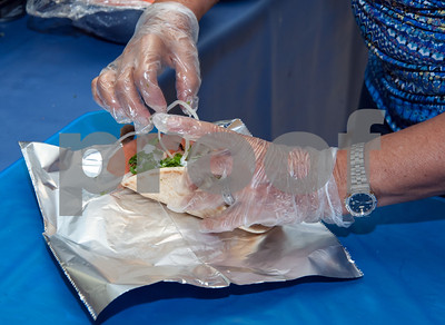 10/12/18  Wesley Bunnell   Staff  A gyro is prepared at St. George Greek Orthodox Church's fall festival which is being held Friday through Sunday.