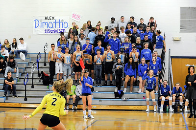 10/22/18  Wesley Bunnell | Staff  Bristol Eastern defeated Bristol Central on Monday night 3-1. The Bristol Eastern student section.