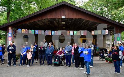 10/6/2018 Mike Orazzi | Staff The PARC annual walkathon  at Norton Park Saturday morning.