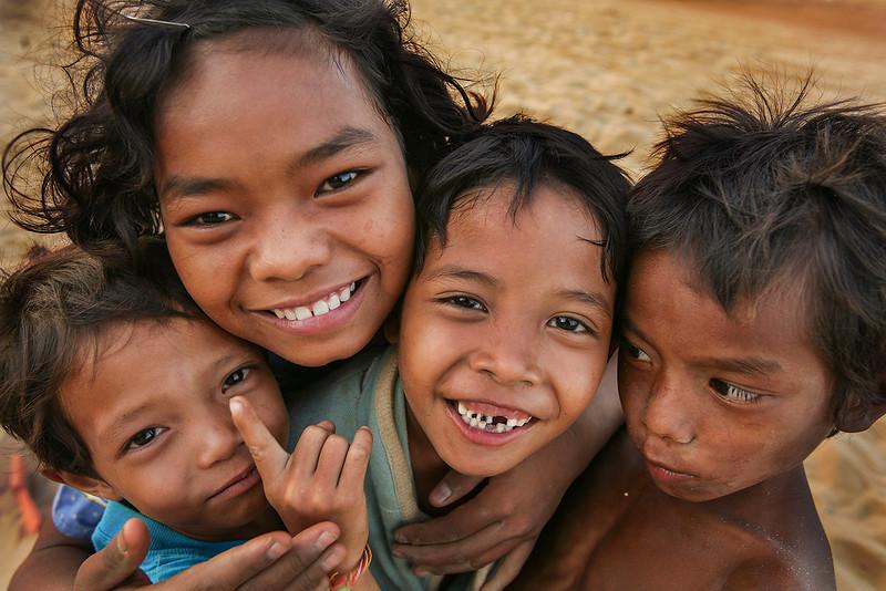 Cambodian kids