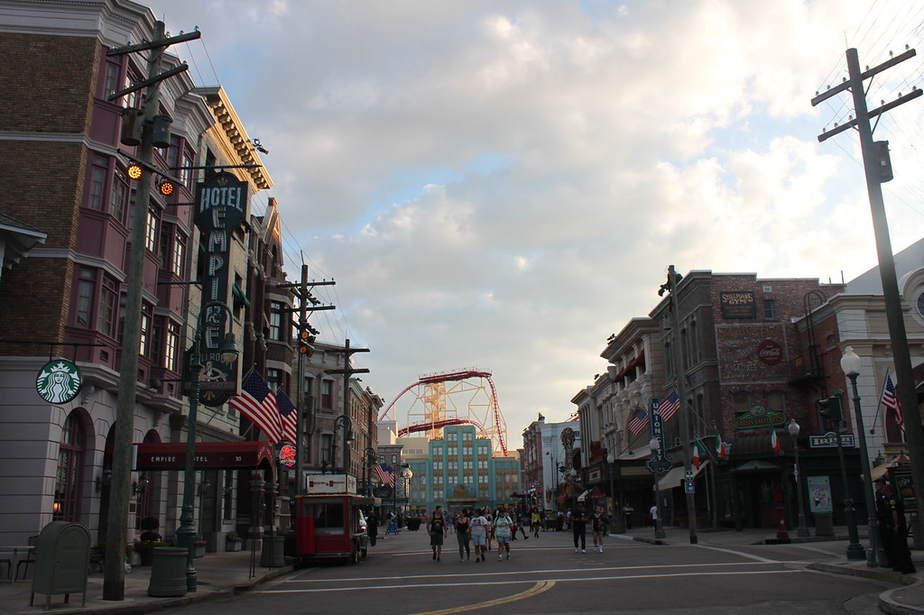 Universal Studios after hours