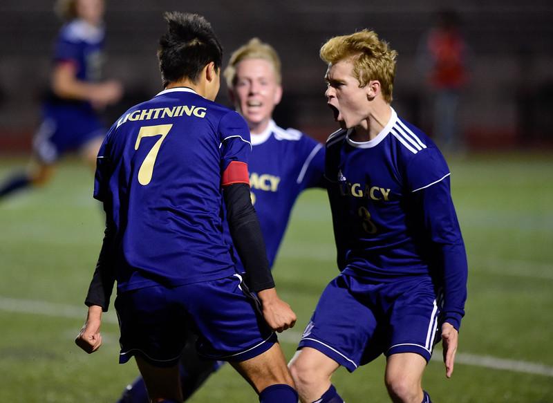 Boulder Vs. Legacy Boys Soccer at North Stadium