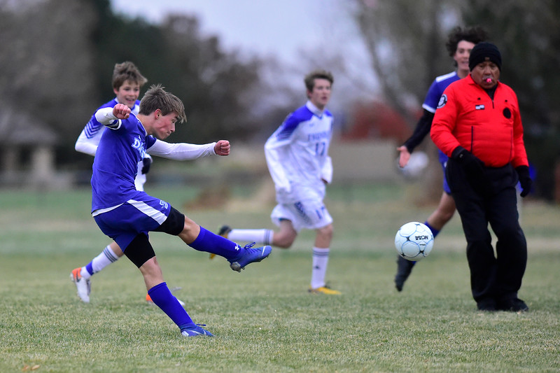 Dawson vs Denver Christian Boys Soccer