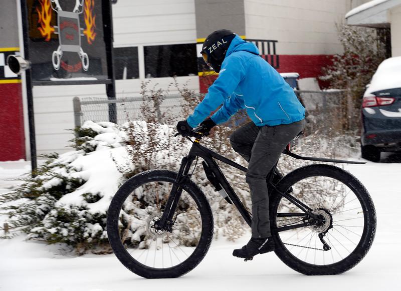 Longmont October 29, 2019 Snow