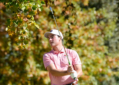 Action from the final round of the Wildcat Invitational at Butte Creek Country Club on Tuesday, October 15, 2019, in Chico, California. (Matt Bates -- Enterprise-Record)