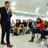 Seth Moulton Townhall Meeting in Danvers
