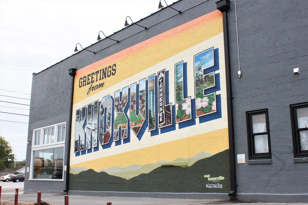 Knoxville murals