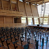 Tour of the Groton Hill Music Center, under construction, where the Indian Hill Music will move. Interior of 300-seat performance hall.  SUN/Julia Malakie