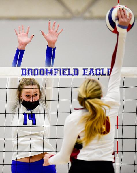 Broomfield Vs. Rocky Mountain Volleyball