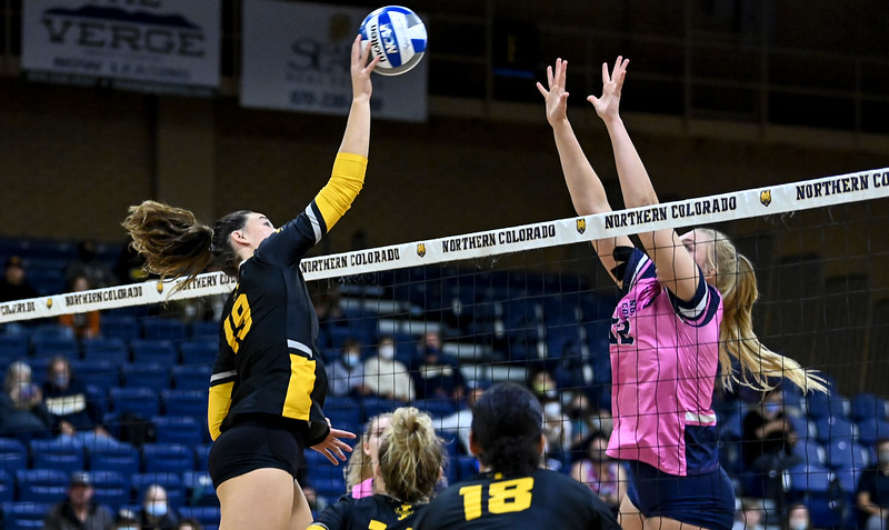 Idaho Northern Colorado Volleyball