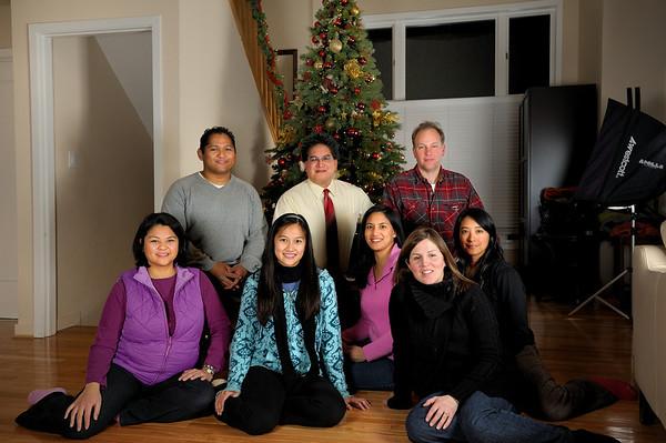 12/29/09 Family at Jennifers house