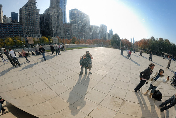 11/14/09 Jeannette and I in Chicago